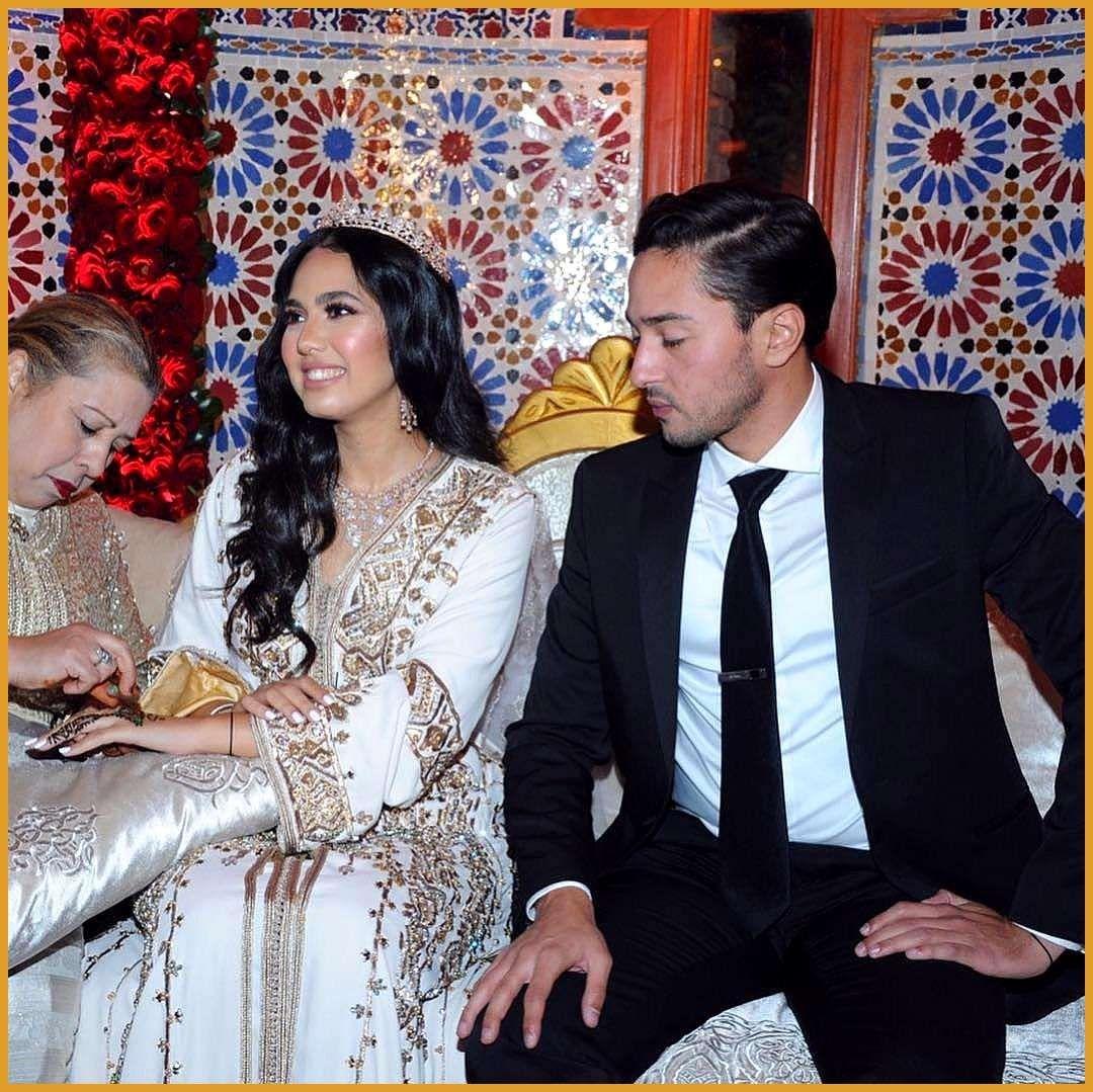 Marokkanische Braut Marokkanische Marokkanische Kaftan Hochzeit Mashaa 39 Allah Marokkanische Marokkanische Moroccan Bride Flower Girl Robes Moroccan Wedding