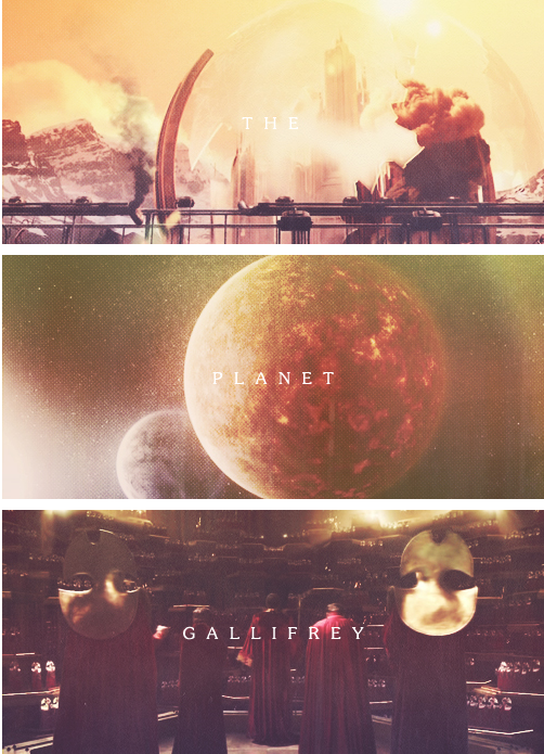 The planet Gallifrey