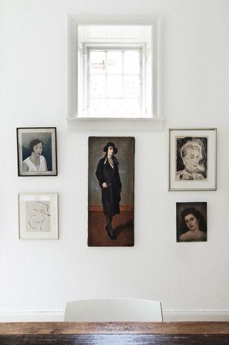 portraits / hanna's room