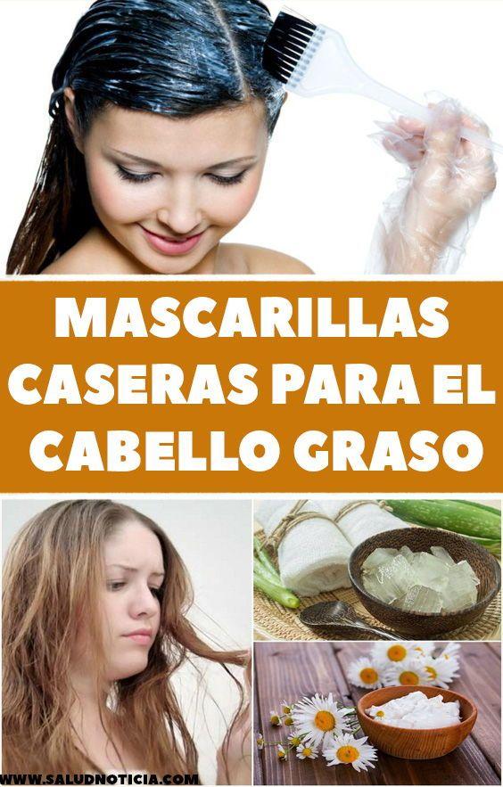 Mascarillas Caseras Para El Cabello Graso Healthy Hair Hair Care Hair Beauty