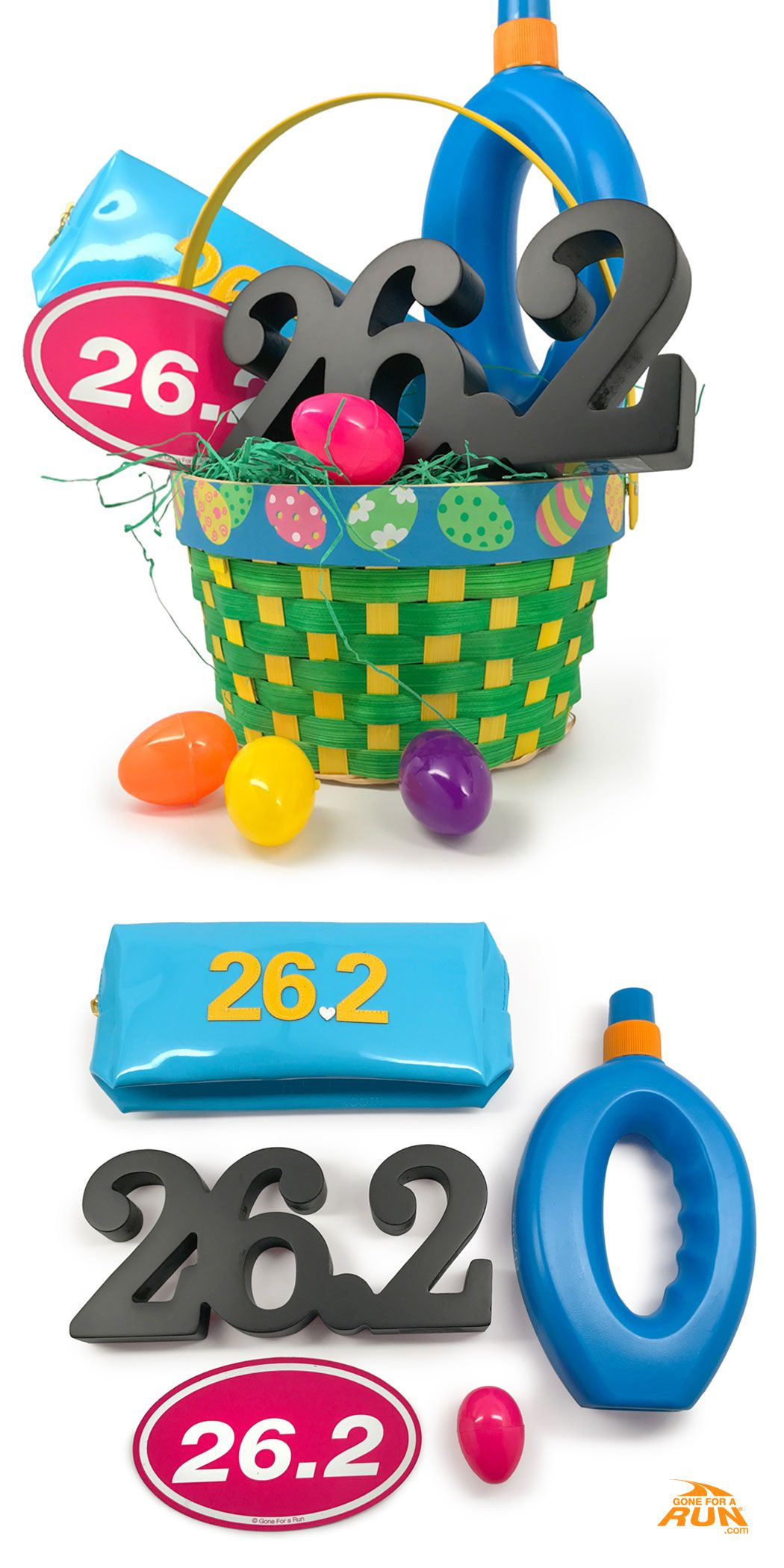 Are you the easter bunny our marathon runner easter baskets are celebrate easter with great running gifts including a virtual race pre made running easter baskets and running gift suggestions for the perfect holiday negle Image collections