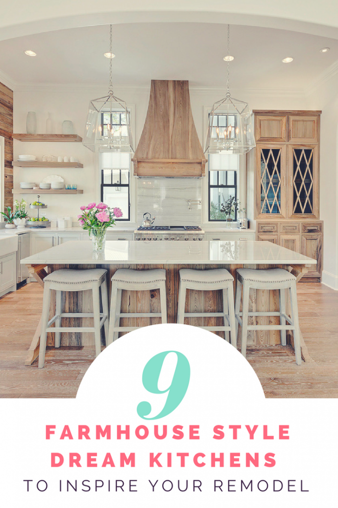 9 Dream Farmhouse Kitchen Designs To Inspire Your Remodel