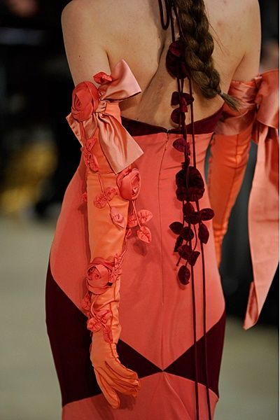Alexis Mabille. Although some clothing I probably would not wear...there is an intrigue to the art of many of the designs that make me wish I could.