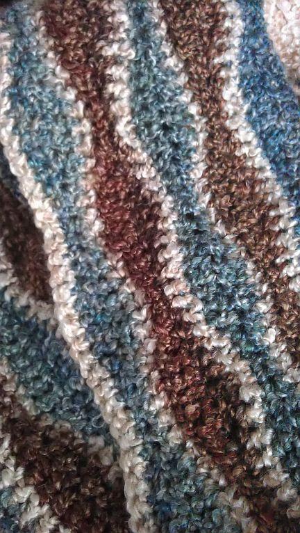Wave Afghan My Own Crochet Creations Pinterest Afghans