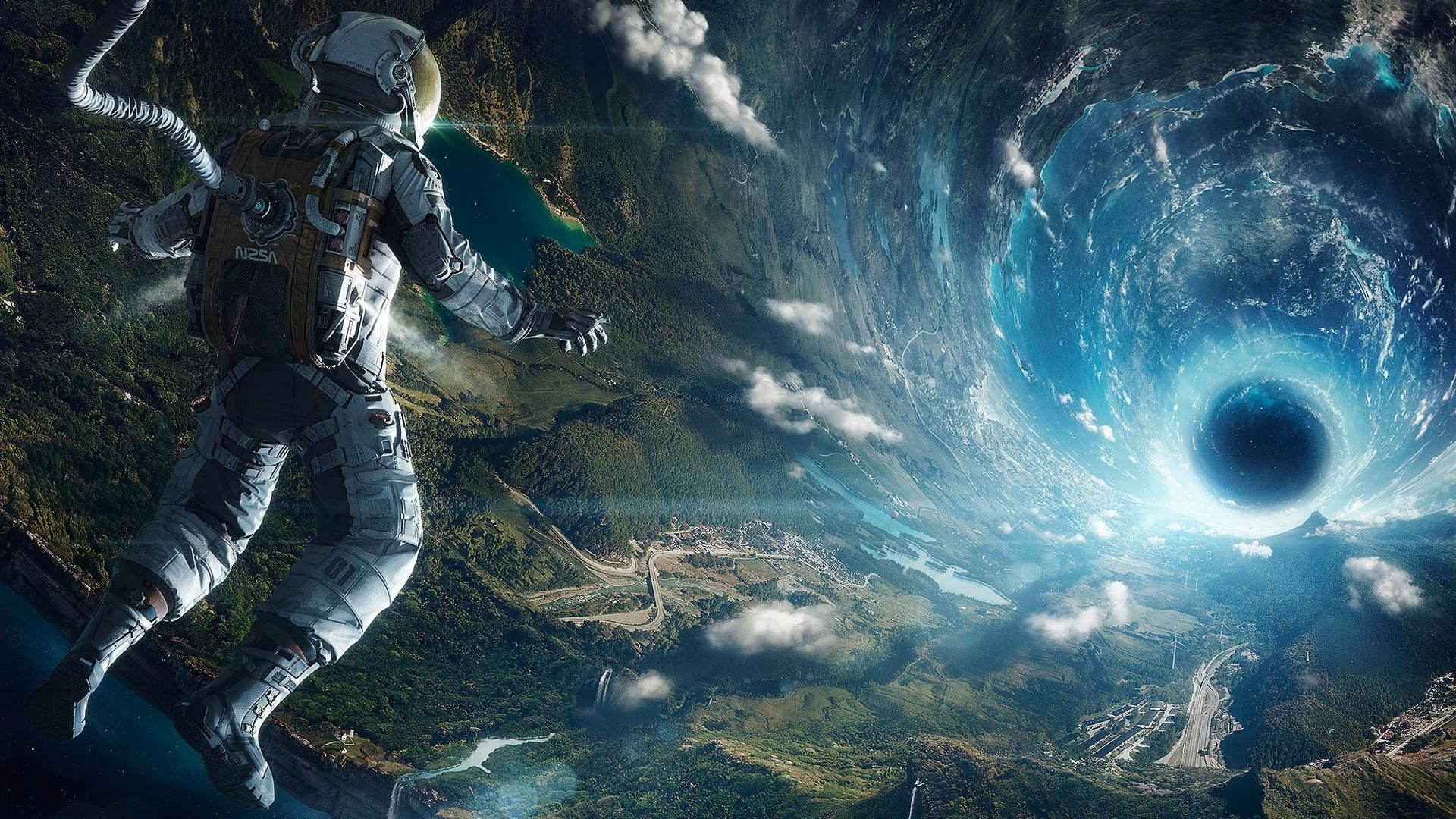 Interstellar Wallpaper In 2020 Space Illustration Space Art Rendezvous With Rama