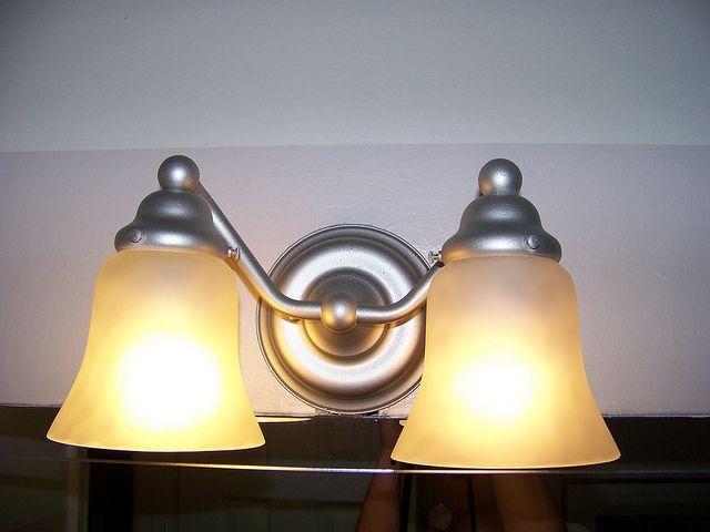 Re Painting Light Fixtures Rustoleum S Brushed Nickel