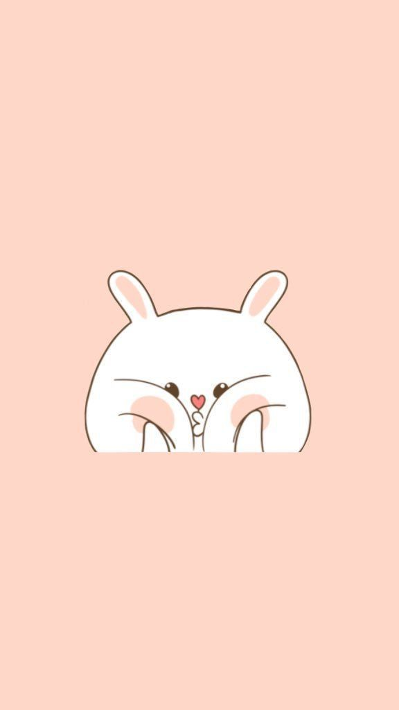 This wallpaper is so cute! This squishy bunny is one of my favorite phone downloads...this post has so many cute options!