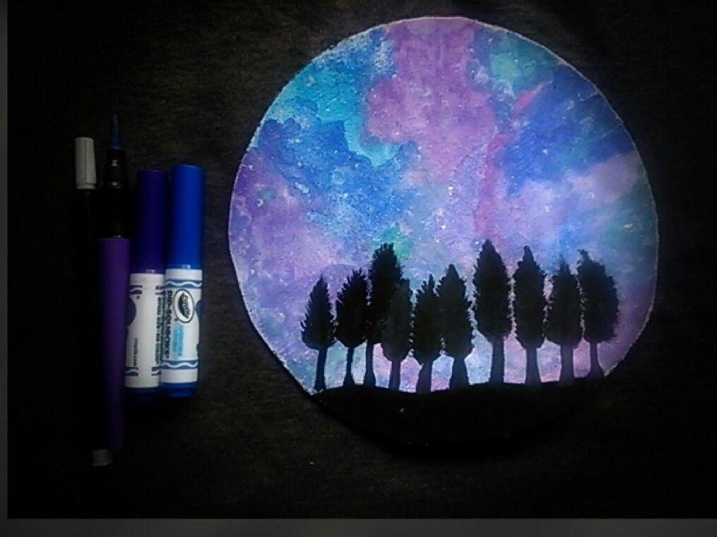 Paisajes Nocturnos Para Pintar Cuadros