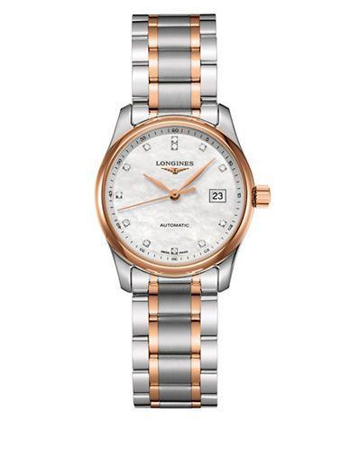 Longines Two-Tone Stainless Steel Bracelet Watch Women's Two Tone
