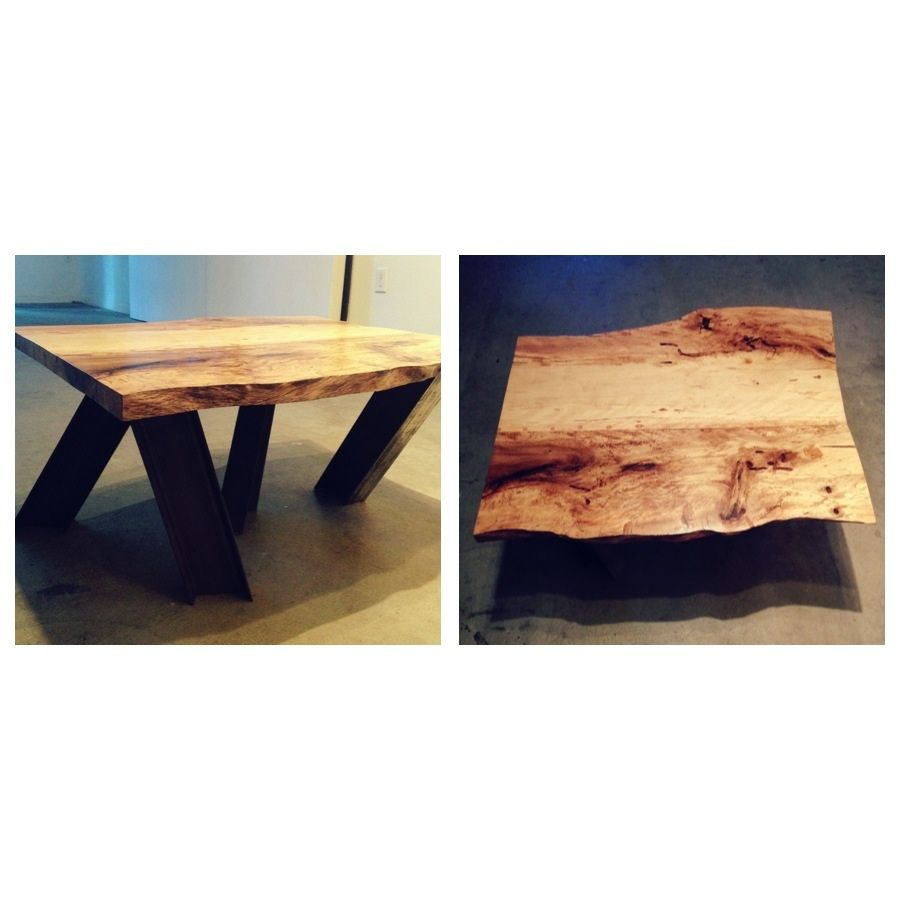 Mylan Chacon S Coffee Table On A Walk Is Constructed From A California Live Oak That Mylan Rescued From The Julian Forest Live Oak Chainsaw Mill Plank Table [ 900 x 900 Pixel ]