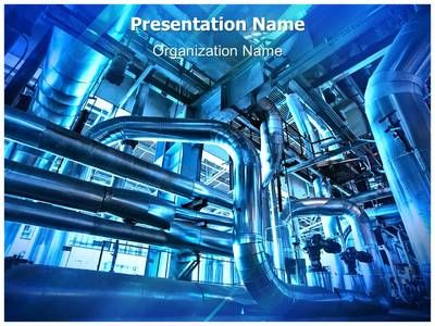 Industrial Power Plant Powerpoint Template Is One Of The Best