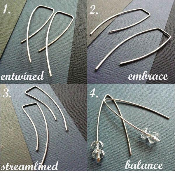 great ear-wire ideas | Lake Effects | Pinterest | Schmuck, Fasten ...