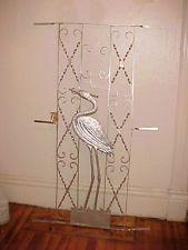 Antique Screen Door Ebay Vintage Screen Doors Screen Door Aluminum Storm Doors