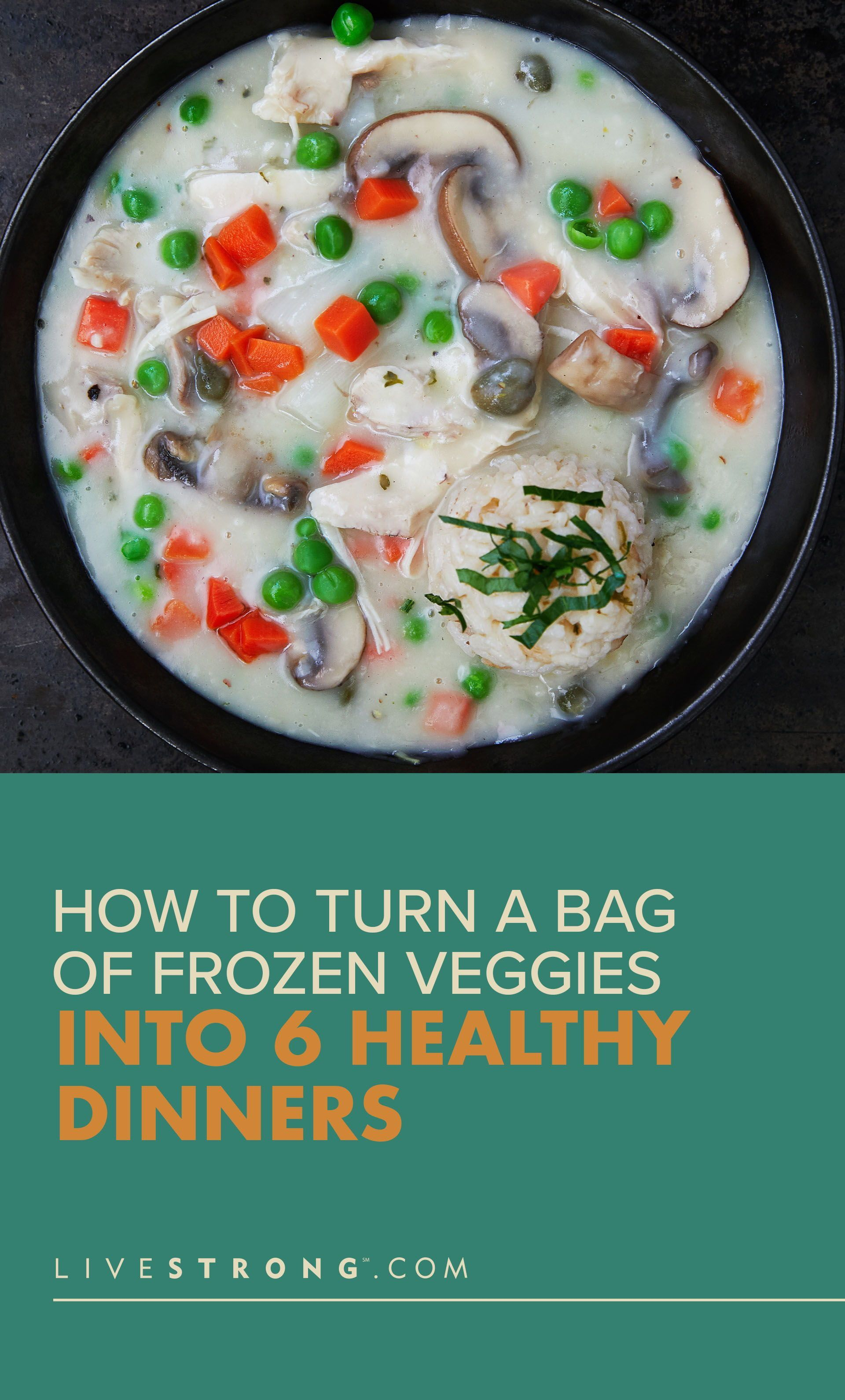 How To Turn A Bag Of Frozen Veggies Into 6 Dinners Under 500 Calories Livestrong Com Frozen Vegetable Recipes Healthy Vegetable Recipes Dinners Under 500 Calories