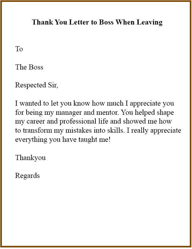 Thank You Letter To Colleagues When Leaving Company : thank, letter, colleagues, leaving, company, Thank, Letter, Leaving, Quotes,, Boss,, Quotes