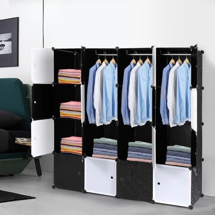 Bedroom Wardrobe Storage Cabinet, Storage Cube, DIY …
