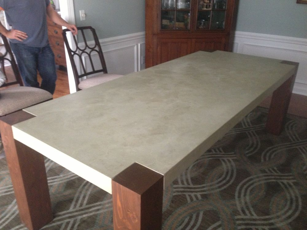 Concrete Table | Concrete Dining Table