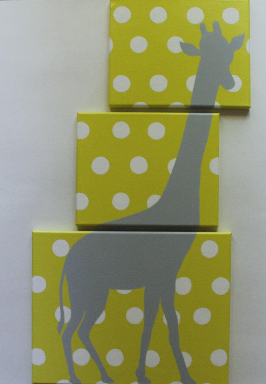 Giraffe+Nursery+Safari+Nursery+Decor+Jungle+by+JoanitaBonita,+$75.00 ...