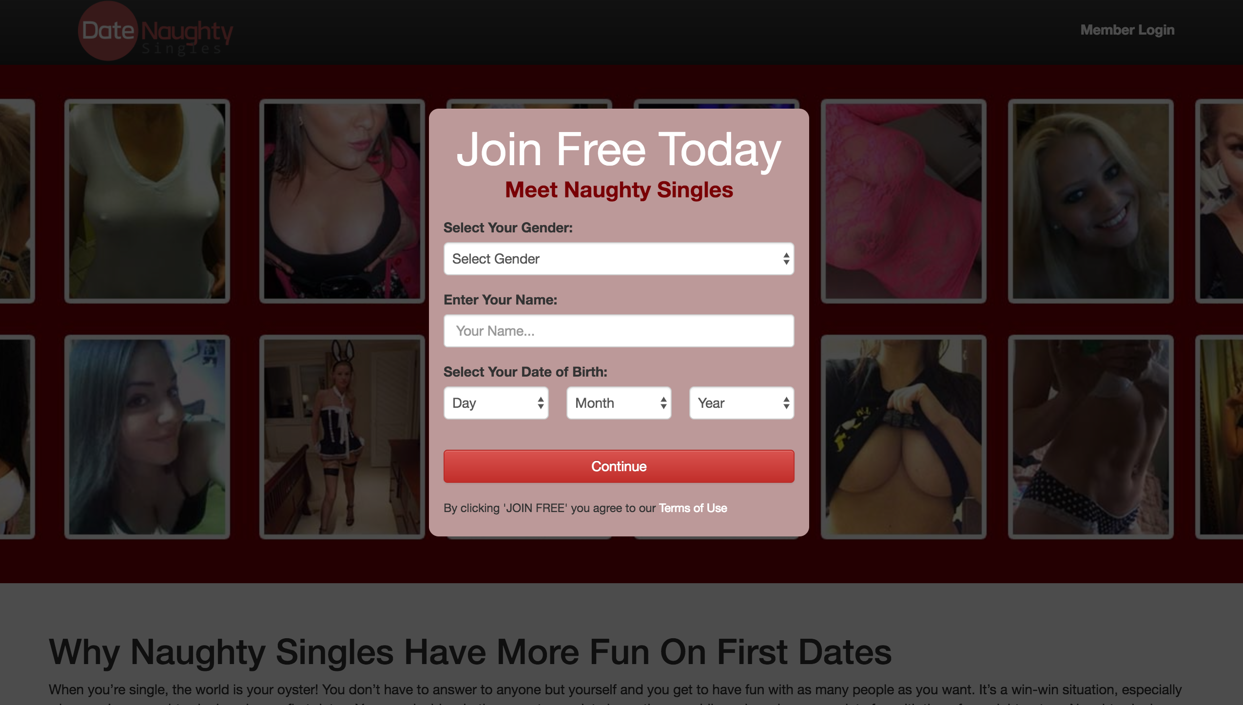 Date Naughty Singles is the apt dating websites with all the features  attached to it. The membership is free for women on all possible services  provided by ...