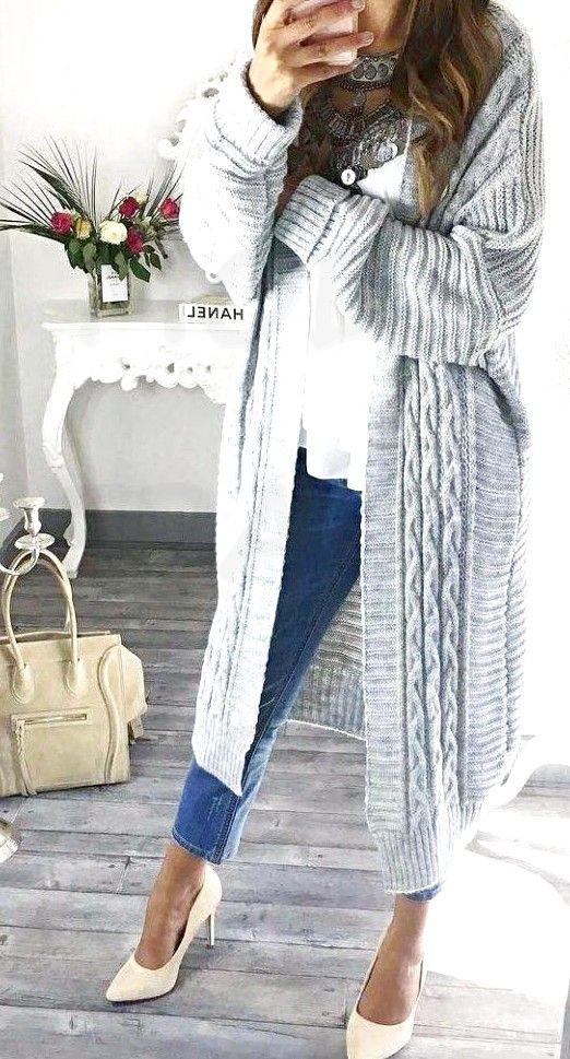 Ces jolies tenues d'automne sont les tendances de la mode automnale parfaites! #Tendance mode – mode femme 60