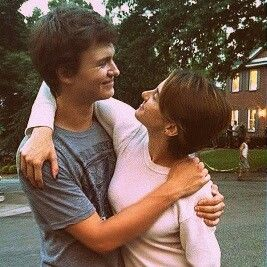 """Ansel Elgort (Augustus) and Shailene Woodley (Hazel Grace) on the set of """"The Fault in our Stars"""" set"""