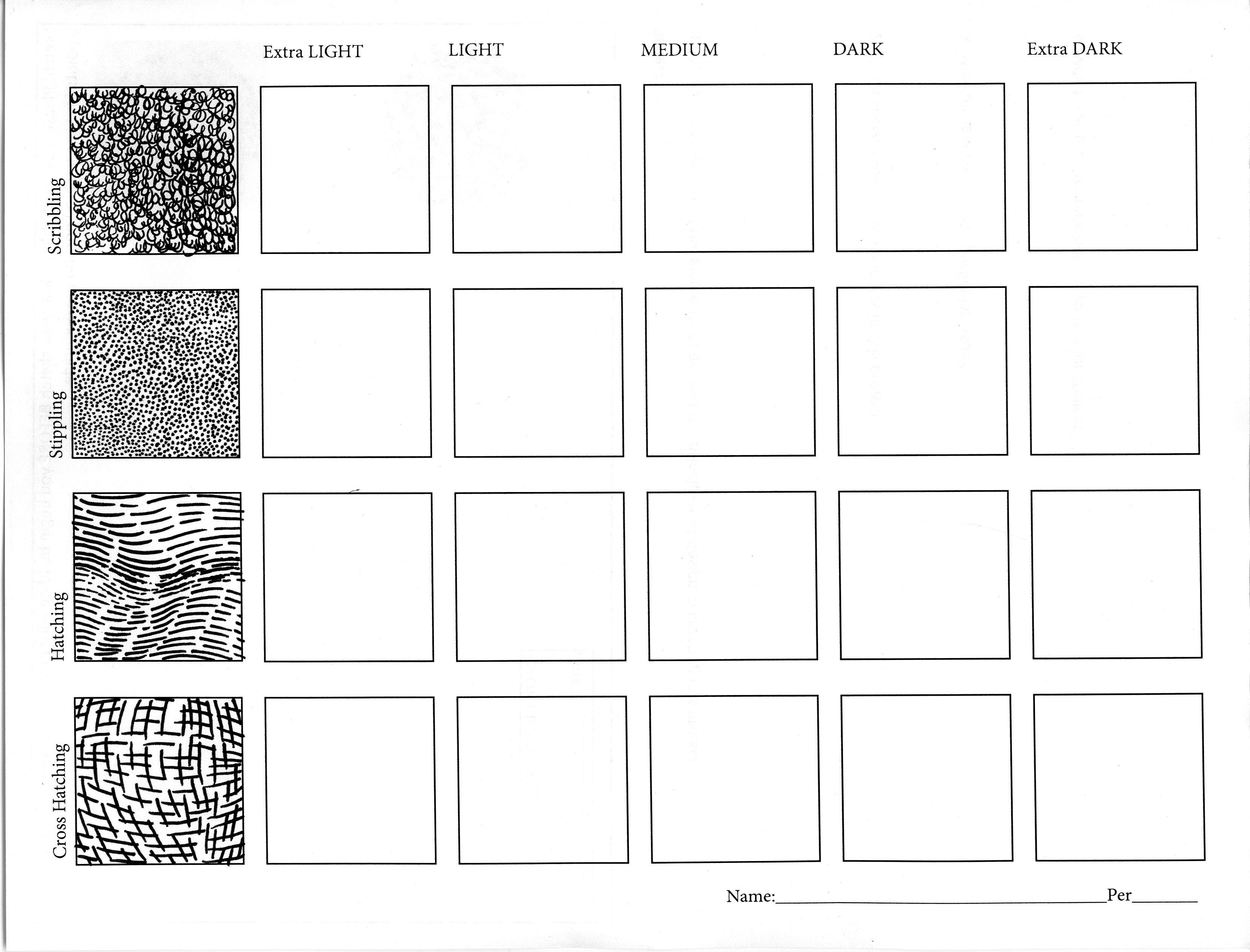 Images For Gt Shading Worksheet