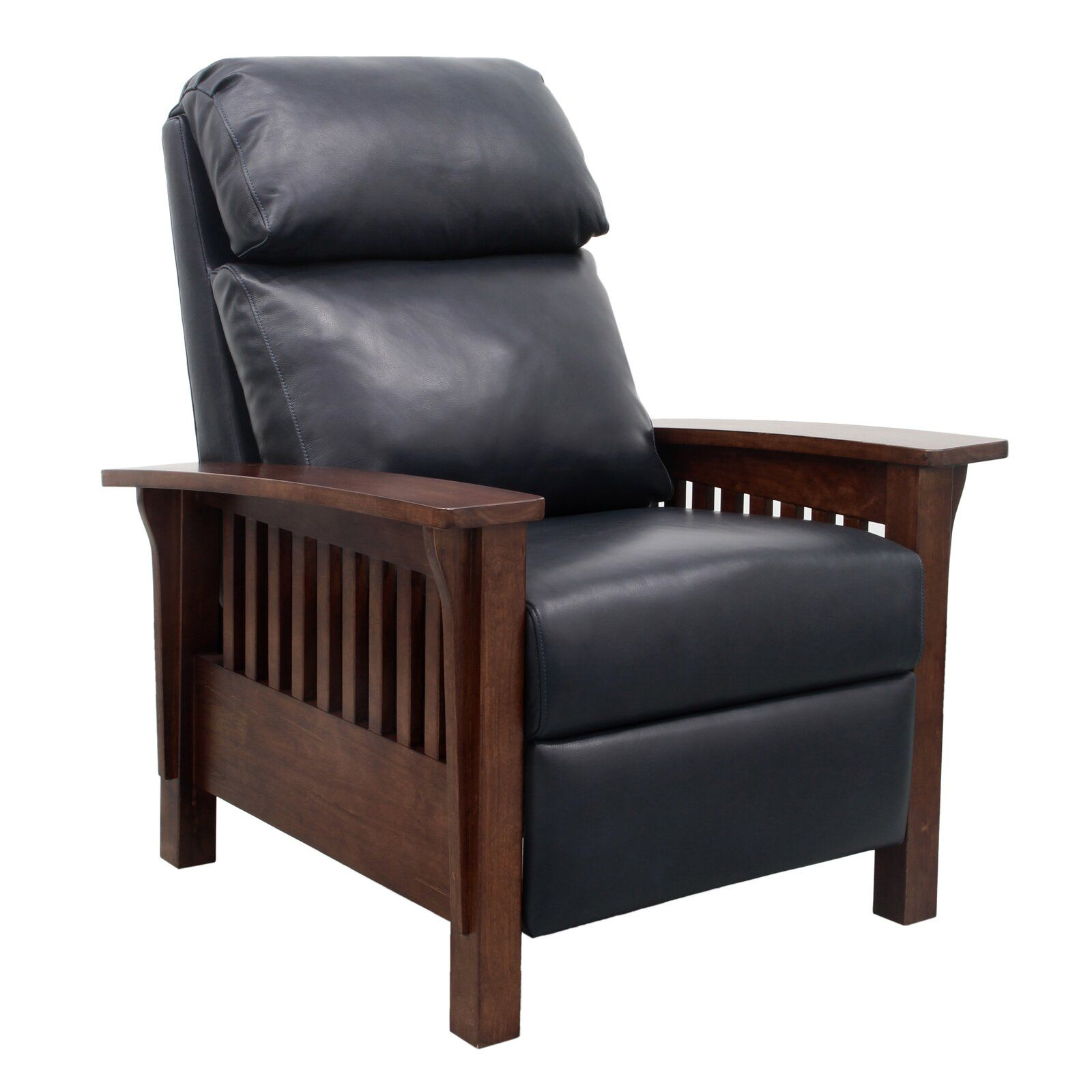 Red Barrel Studio Jazmine Leather Manual Recliner