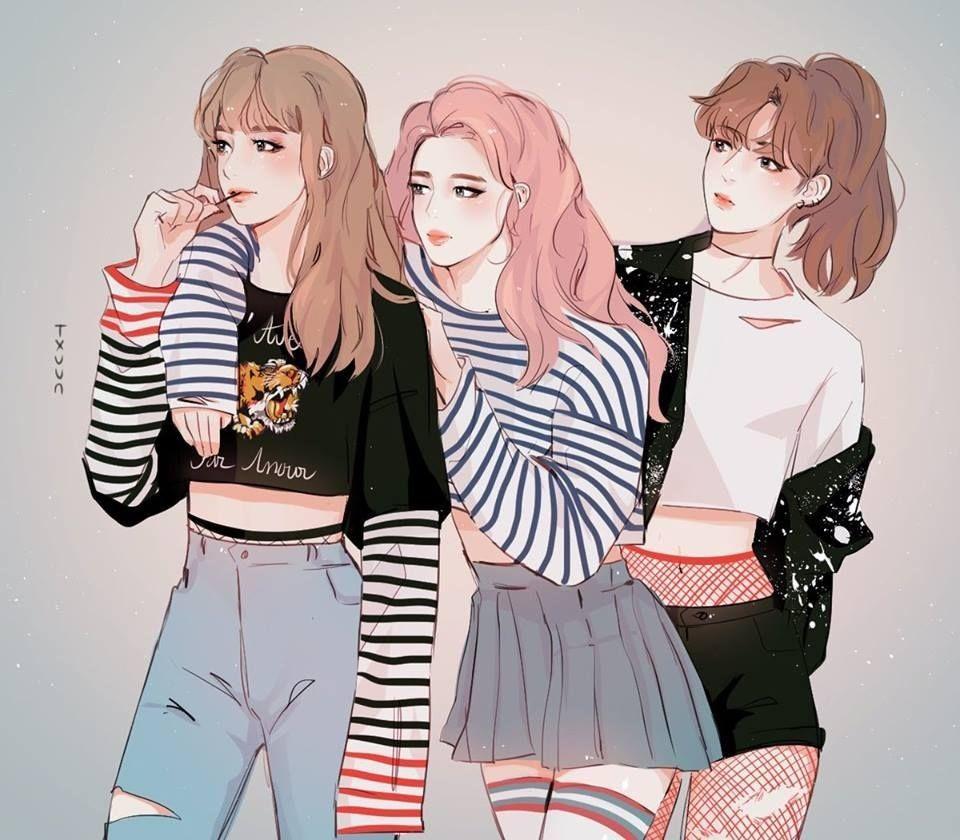 Pin by Kathy Anne on animes Bts fanart, Bts girl, Fan art