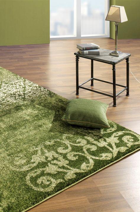 Dieser grüne Teppich beeindruckt mit seinem faszinierenden