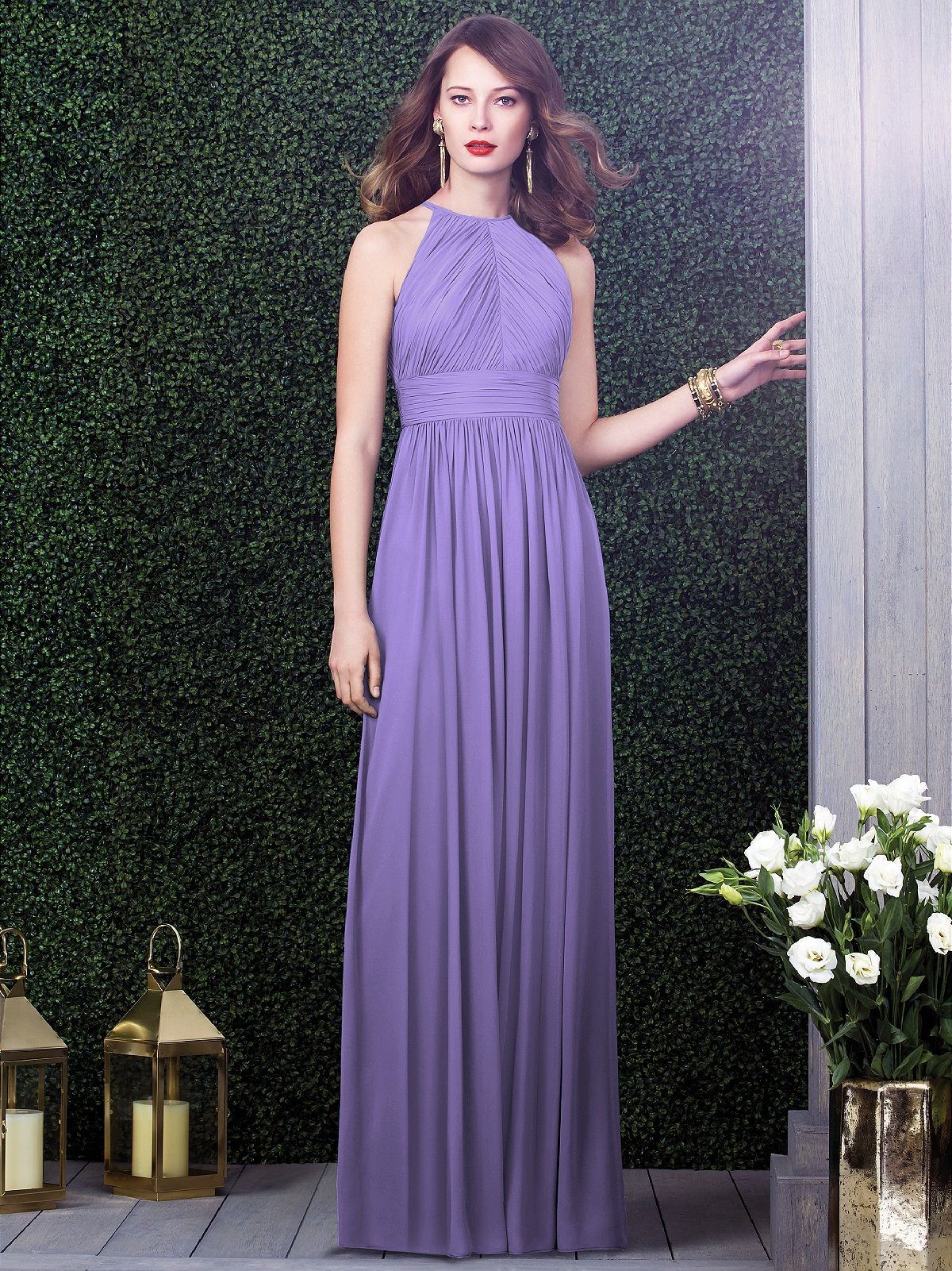Bridesmaid dress Tahiti color www.world.dessy.com | My Wedding ...