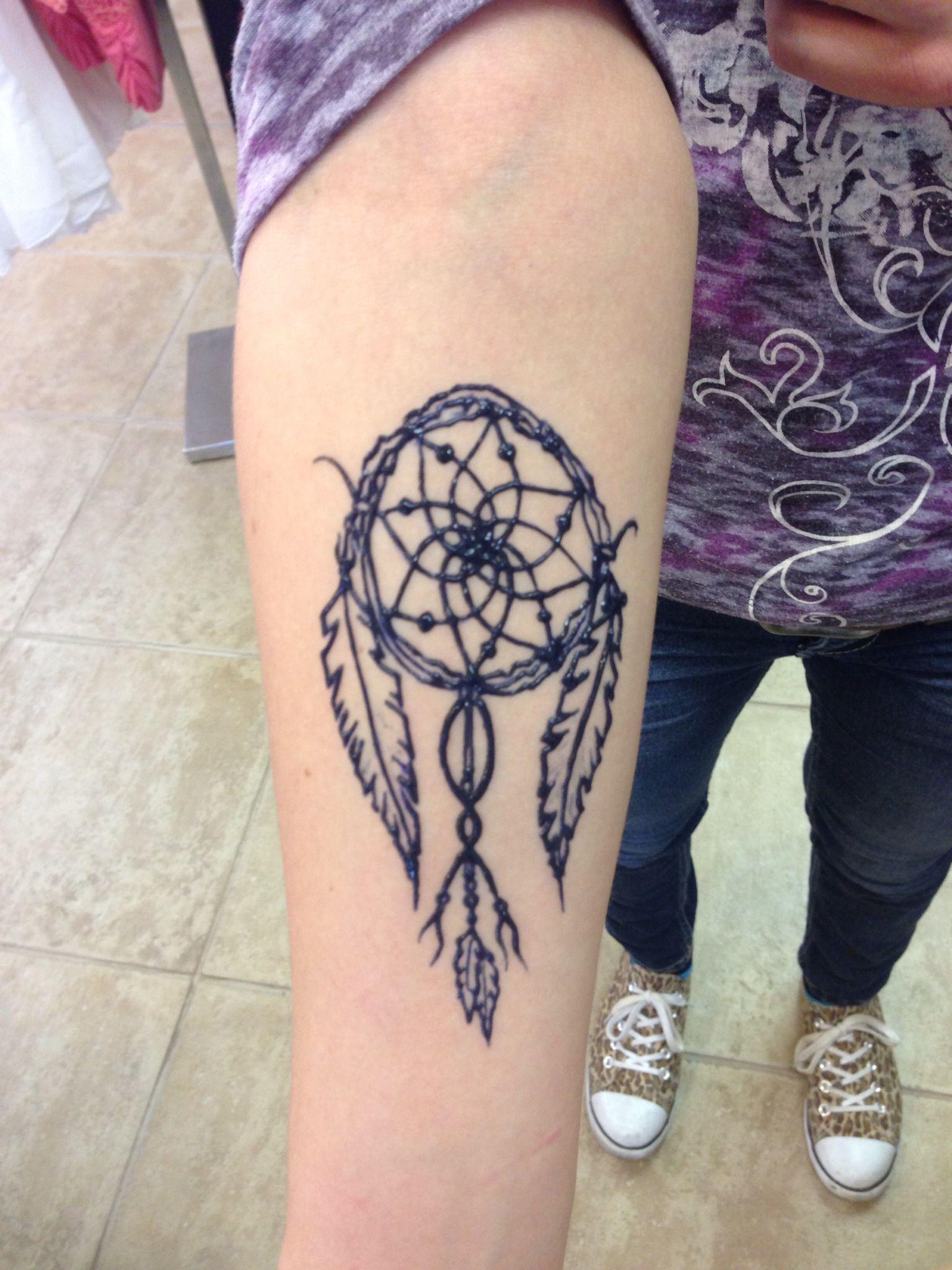 Dream Catcher Henna Tattoo Designs: Another Dreamcatcher Henna Tattoo