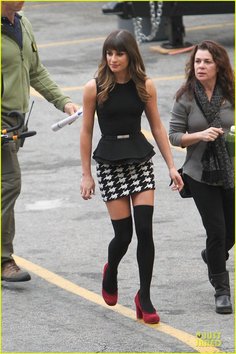 8db64aeff Lea Michele: 'Funny Girl' Performance on 'Glee' - Watch Now ...