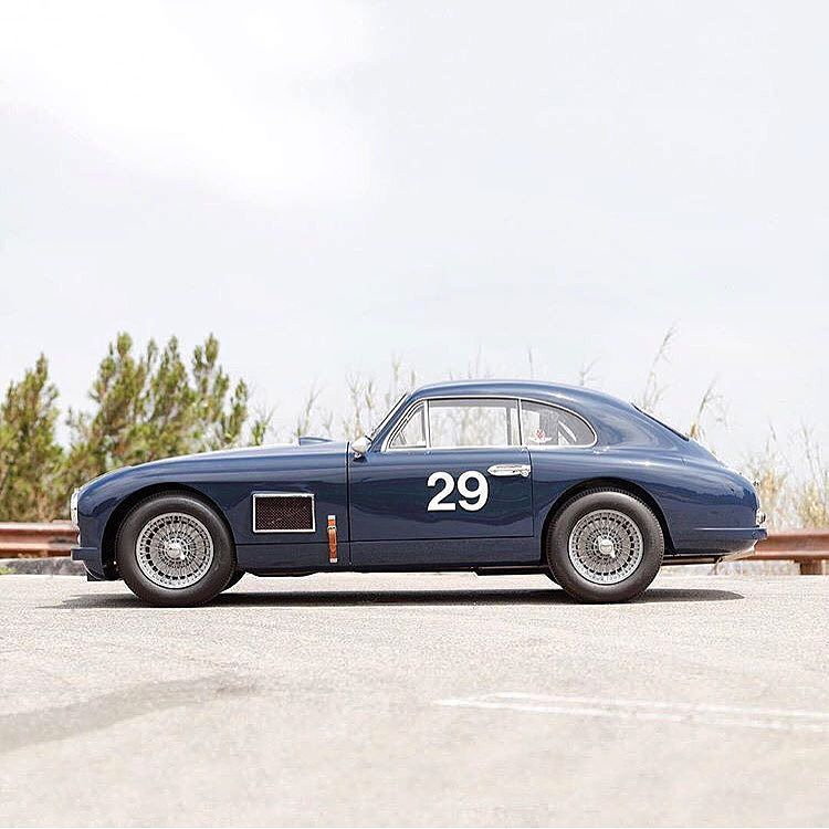 Made In UK. Aston-Martin DB2 Coupè 1950' #29 By @silodrome