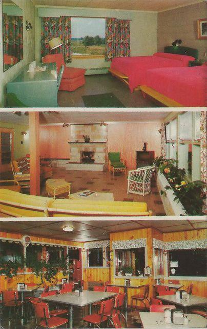 Motel Room Interiors: Pin On Vintage Interior