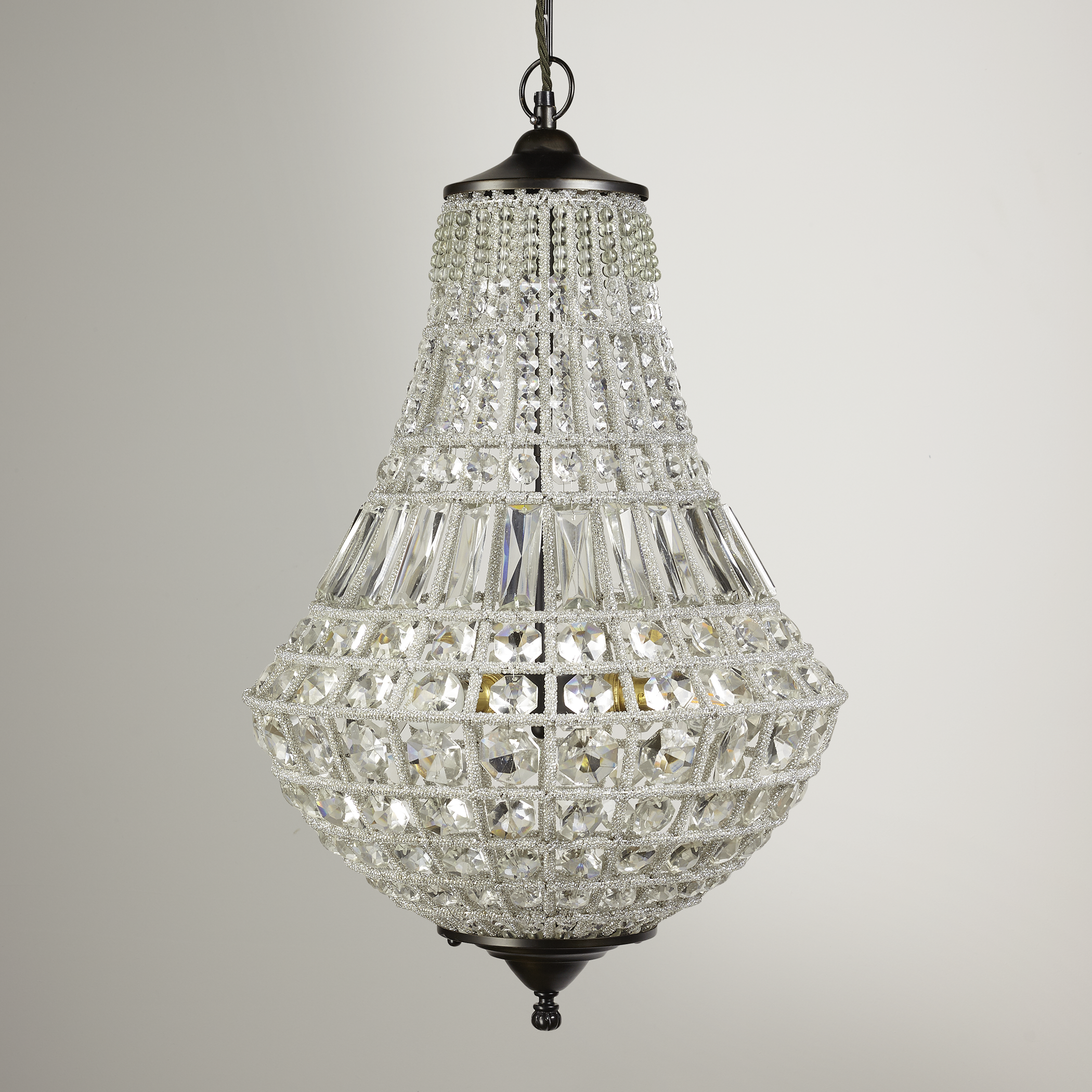 This Is The Classic French Teardrop Shaped Beaded Chandelier Glass Ball Pendant Lighting Crystal Chandelier Beaded Chandelier