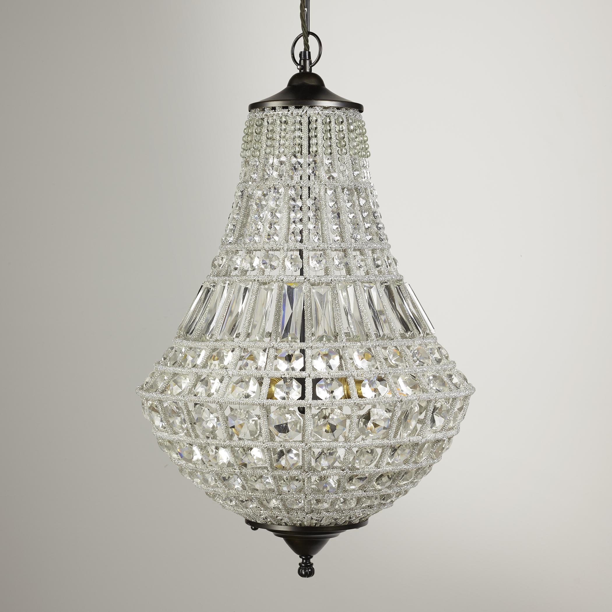Lighting Antique Chandelier Crystals Tear Drop Shape