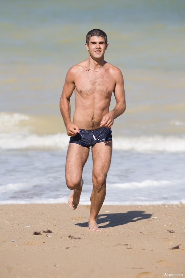 Short Men: Short shorts will elongate those legs (and that package ...