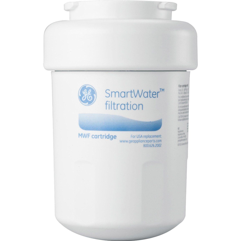 Ge Mwf Refrigerator Water Filter 1 Pack Refrigerator Water Filter Water Filter Filters