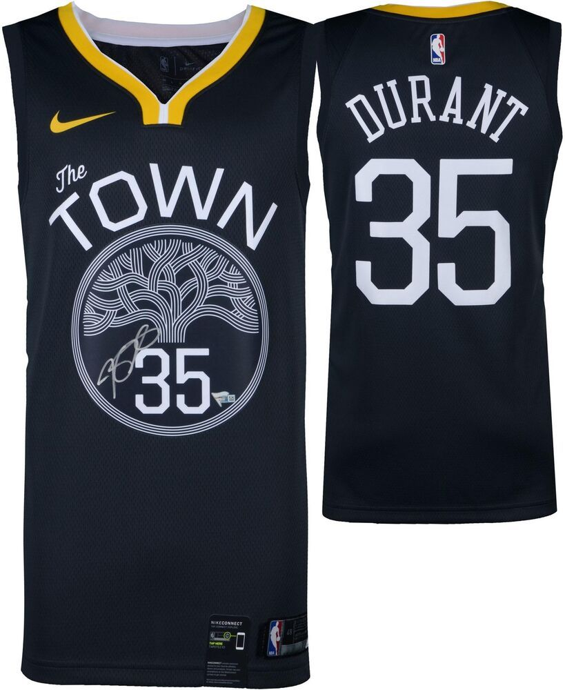 ee7c2d96d0a Kevin Durant Golden State Warriors Signed Charcoal Nike Swingman Jersey -  Panini  sportsmemorabilia  autograph  basketballjersey