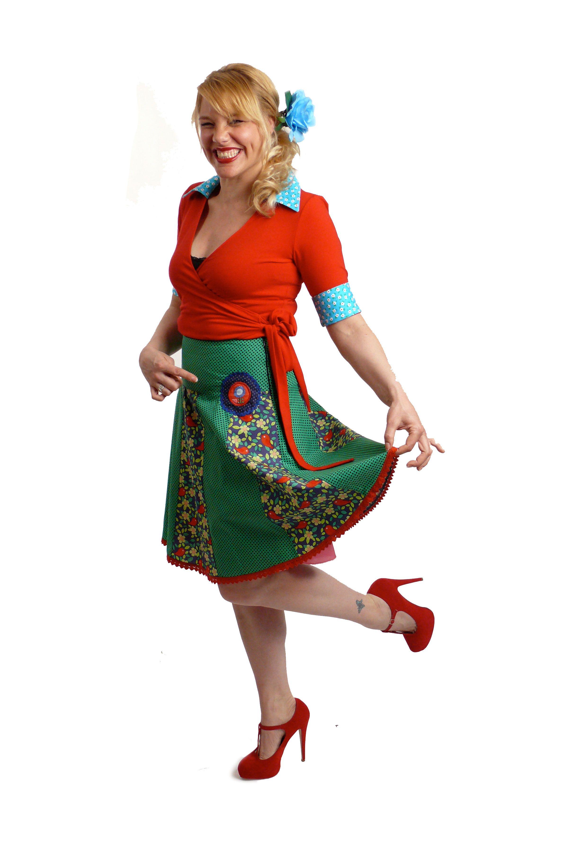 Kleuren voor Telma dress