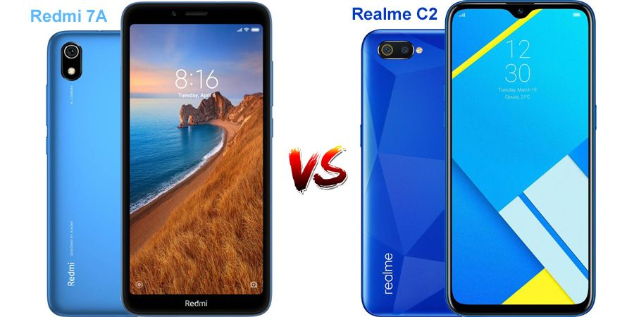 Know How Realme C2 Is Better Than Redmi 7a Mobilesintro Com Compare Cameras Good Things Feature Phone