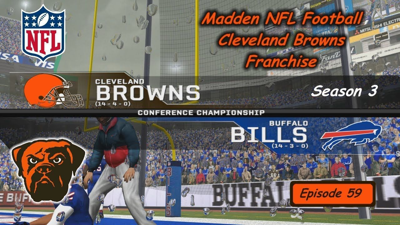 Rebuilding Cleveland Browns Madden PC - AFC Championship at