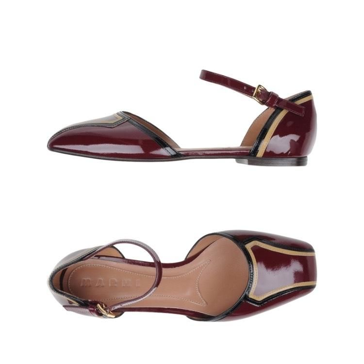 Marni Maroon Flats. Get the must-have flats of this season! These Marni Maroon…