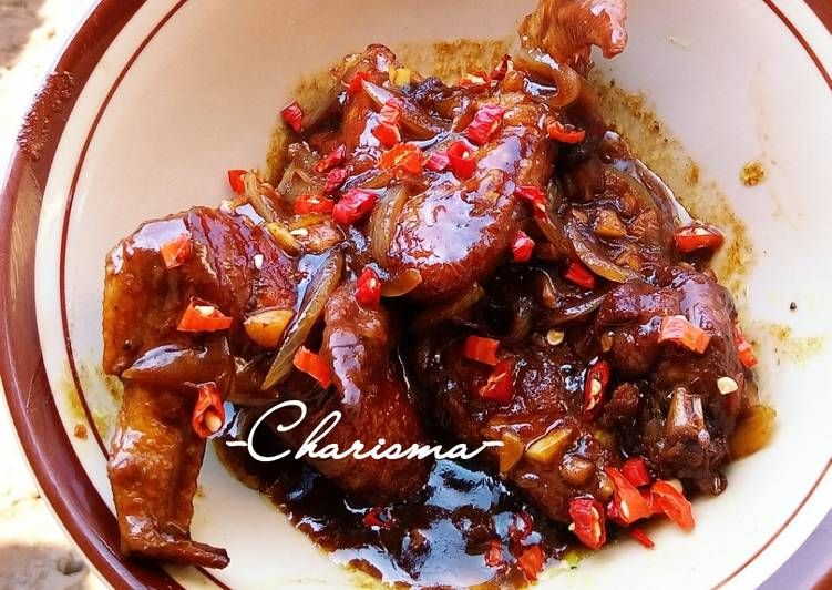 Resep Ayam Kecap Khas Palembang Oleh Charis Resep Resep Ayam Resep Masakan Makanan