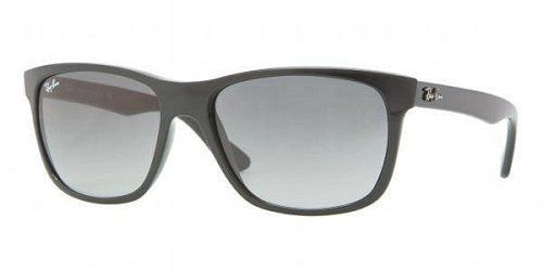 706bfcf7baa Ray Ban RB4181 Sunglasses-601 71 Black (Gradient Gray Lens)-57mm ...