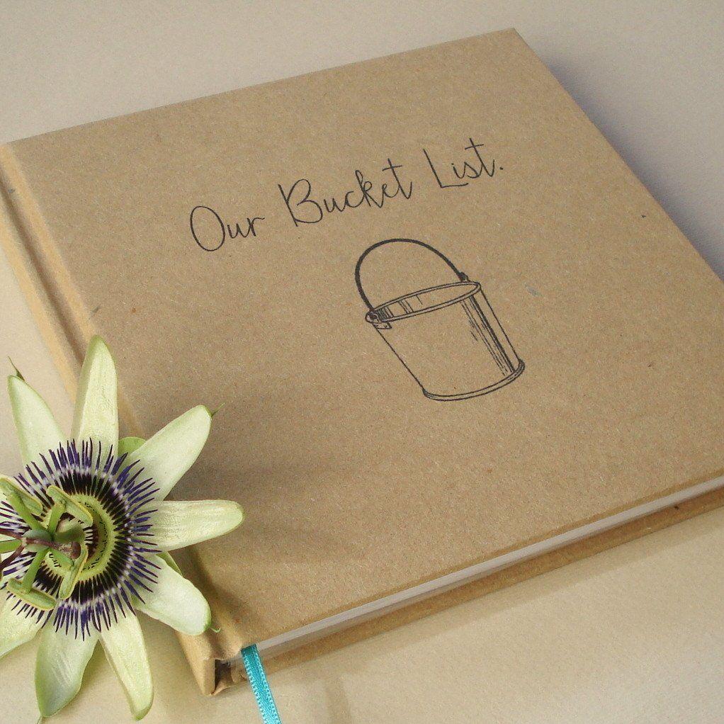 Wedding Anniversary Gift List: Our Bucket List. · Paper Anniversary Journal · Wedding