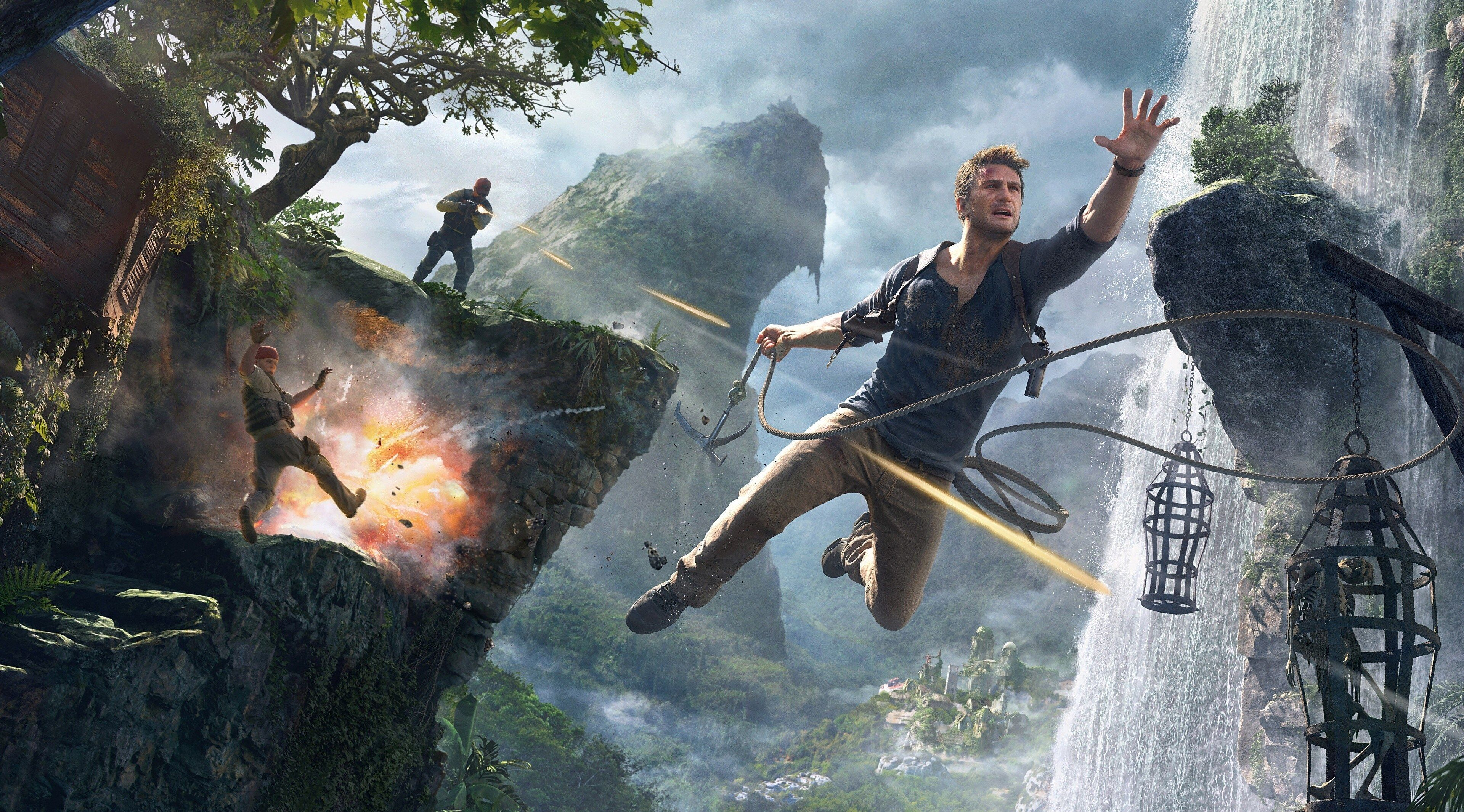 3840x2130 Uncharted 4 A Thiefs End 4k Wallpaper Hd Backgrounds