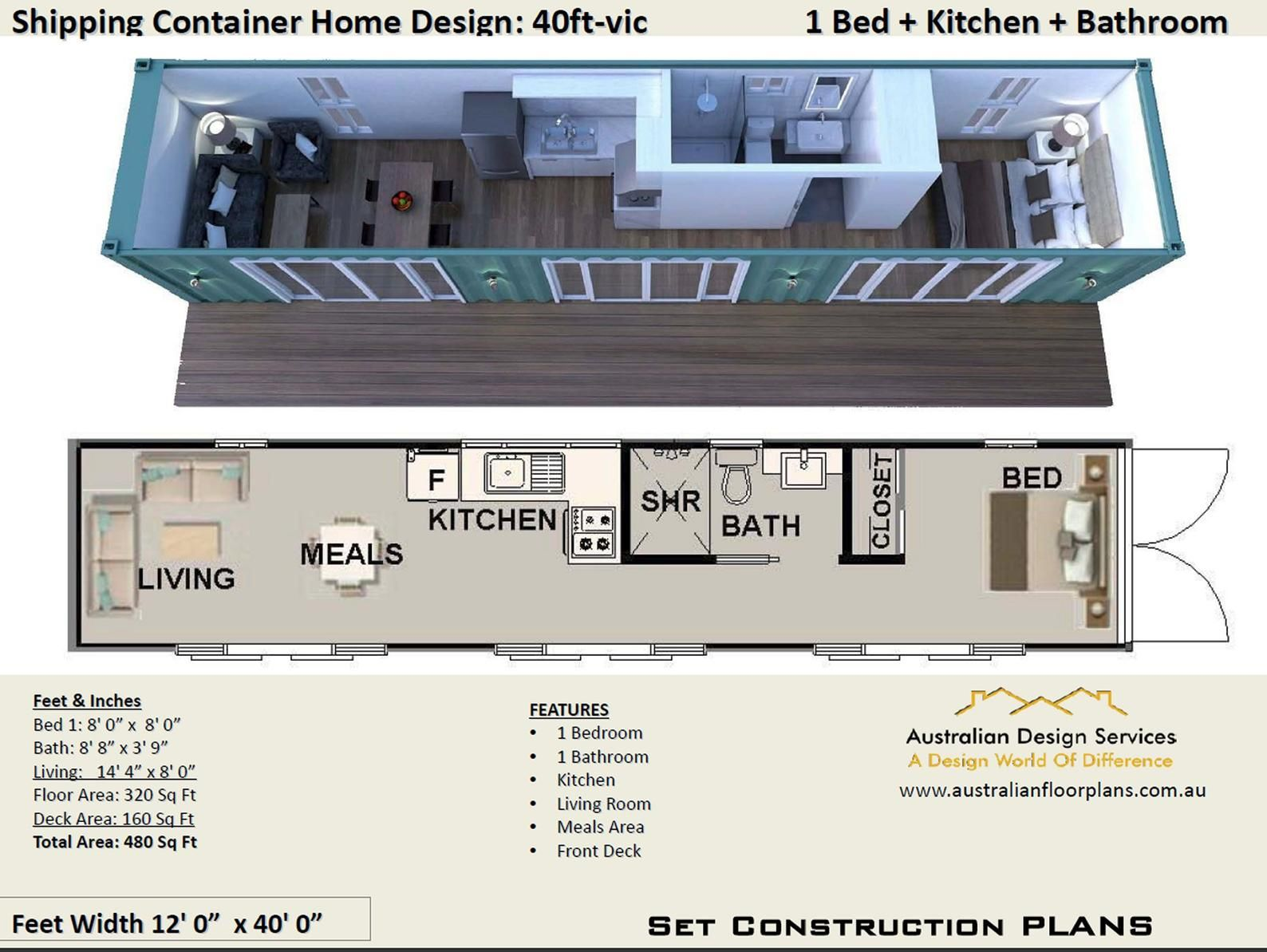40 Foot Container Shipping Containers Container Home Etsy In 2020 Shipping Container House Plans Container House Plans Container House