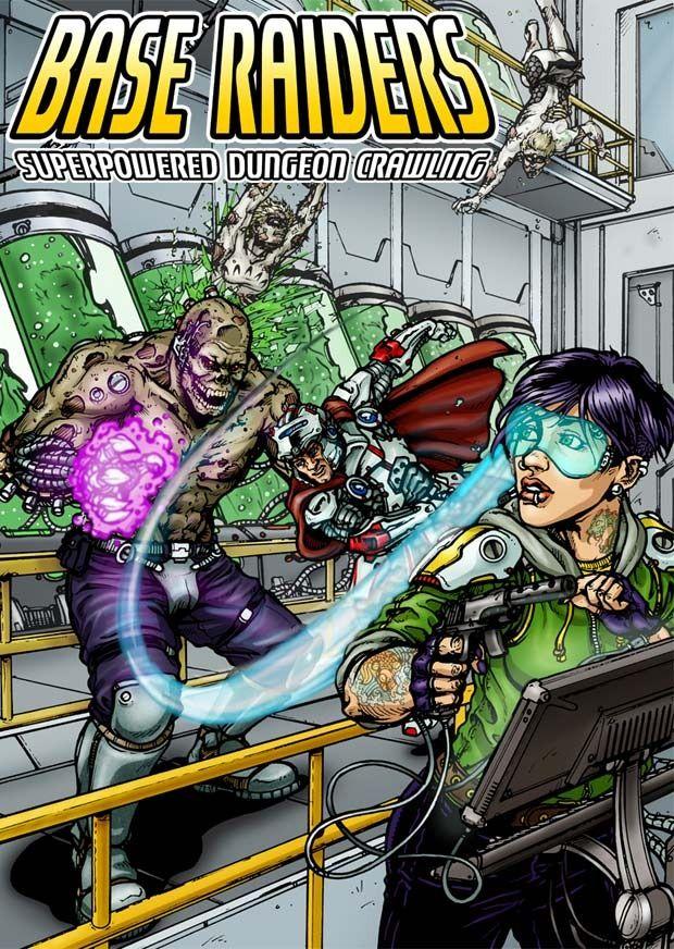 Base raiders Google Search Superhero campaign, Raiders