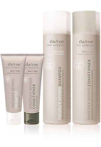 Moisture Senses - Davroe | Pure & Gentle Hair Care CRUELTY FREE